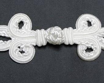 button attachment Brandenburg - white