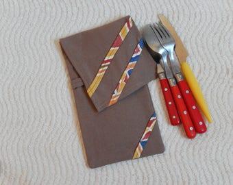 Pouch / case for picnic flatware