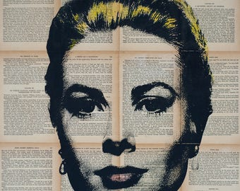 Grace Kelly Pop art, Grace of Monaco Wall Art