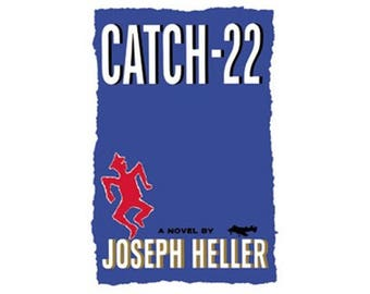Canvas Art Print - Catch 22 ( Joseph Heller )