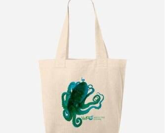 Funky Octopus Tote Bag
