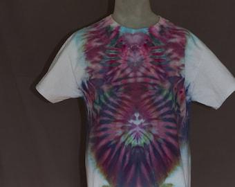Handmade Ice Dyed T-Shirt: Large