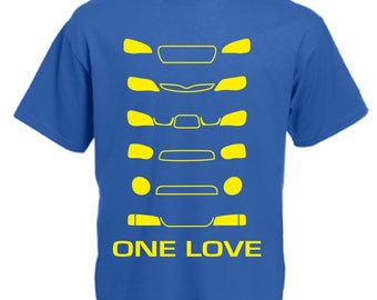 One Love Subaru Funny T Shirt Novelty Slogan Birthday Xmas Gift Slogan Tee FREE UK POSTAGE Scooby Subby Impreza wrx sti