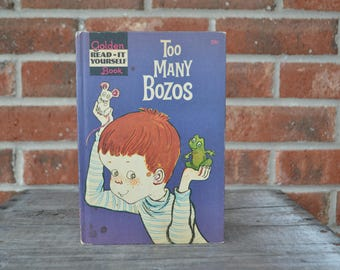 Too Many Bozos by Lilian Moore, Illustrated by Susan Perl, Hardcover, 1960