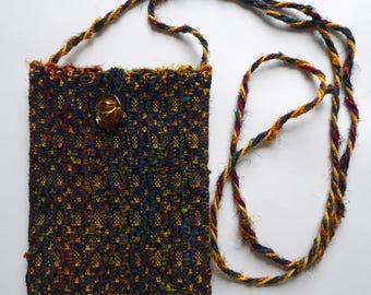 small wiggles handwoven bag