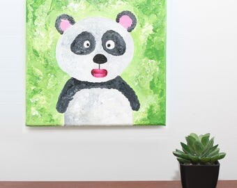 Panda gets lost