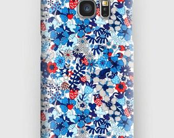 Case for Samsung S5, S6, S6 and S7, S7 + S8 S8 + A3, A5, J3, GP Note 4,5, 8, Liberty FLOWER TOPS C