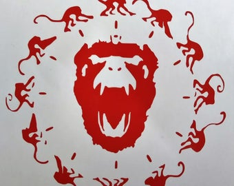 12 Monkeys Vinyl Decal