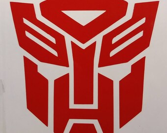 Transformers Autobot Vinyl Decal, Transformers sticker