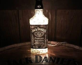 Jack Daniels Lamp/Light, 1 LITER-Man Cave, Bar Decor