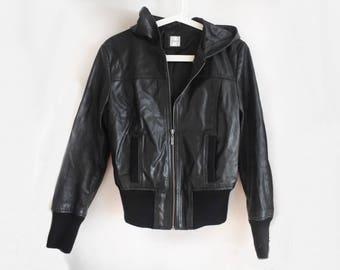 Vintage Vegan Leather Jacket - New Look