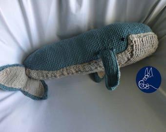 Blue Whale - Amigurumi Crochet Pattern