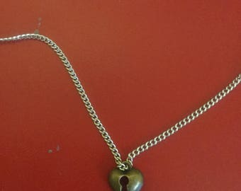key to my heart necklace ( Free shipping )