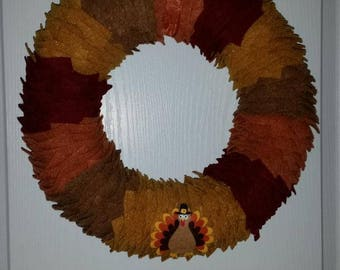 Adorable Turkey Wreath!!