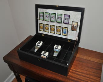 Custom Card Gaming/Minatures Display/Storage Box