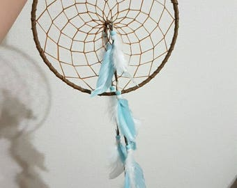 "8"" Baby blue Dream Catcher"