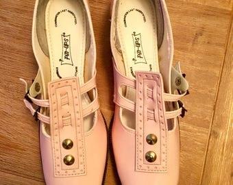 1950s swing era pin up shoes