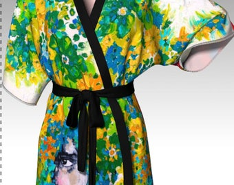 Past, Present, Future Kimono