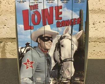 The Lone Ranger Collector Series 5 VHS Set