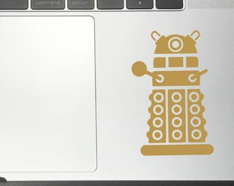 DALEK DR WHO Vinyl Decals/Stickers for Car Macbook iPhone iPad