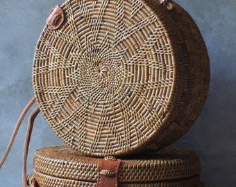 Round Rattan Bag Star (FREE SHIPPING!)