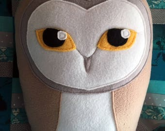 Barn Owl Pillow
