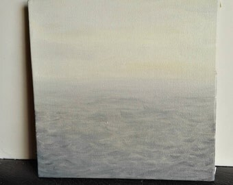 The Stormy Sea Oil Painting