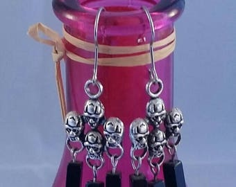 Black Gothic earring