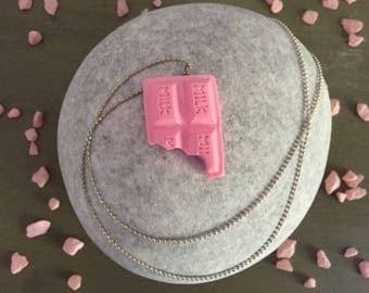 Pink Me Up Chocolate Charm!