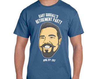 Custom Retirement T-Shirts and Party Favors