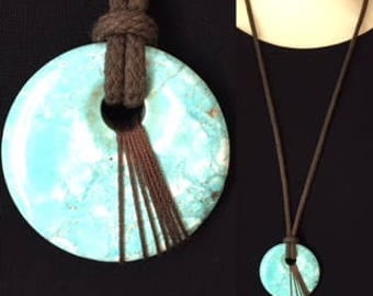 """Turquoise"" necklace"