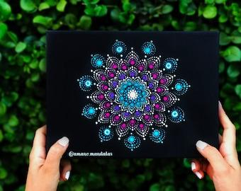 Mandala Flower Canvas