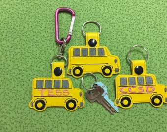 School Bus Key Fob / Chain