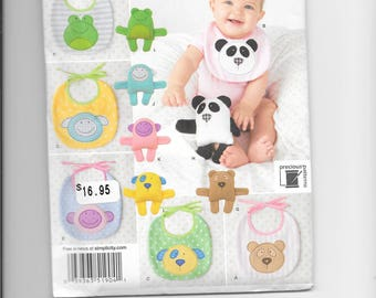 Simplicity 1904 - Baby Bib and Toy Pattern