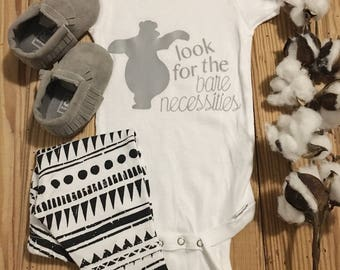 Jungle Book Onesie, Disney Onesie, Baby Disney, Baloo Onesie, Jungle Book, Baby Onesie, Baby Boy Onesie, Boy Onesie, Baby Girl Onesie
