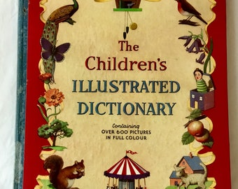The childrens illustrated dictionary.