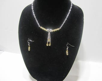 Woman Necklace And Earrings Set