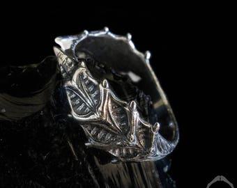Leaf Ring | Giger Ring | Alien Ring | Xenomorph Ring | prometheus Ring | sci-fi Ring | Poison Ring