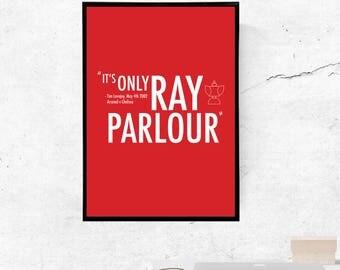 Ray Parlour, Arsenal - A3/A4 Print