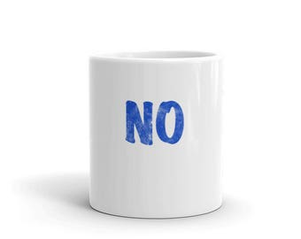 No Spartees Mug