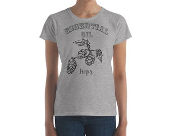 Essential Oil Hops Women's short sleeve t-shirt