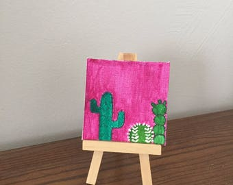 sunset cacti