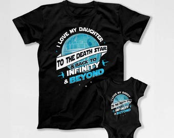 Father Daughter Shirt Matching T Shirt Dad And Daughter Gifts Daddy And Me Clothing Daddy Daughter Shirts New Daddy Outfit TEP-290-291