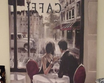 """Wall Pop Art Painting Brent Heighton """"After Hours"""" Canvas Print"""
