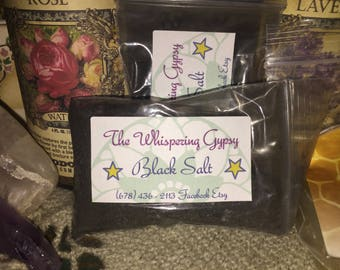 Black Salt - Protective, Banishing, Hex-Breaking, Drive Away Negativity, Witch,