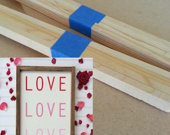 "Kit for print love love love Sign - 14"" x 18"""