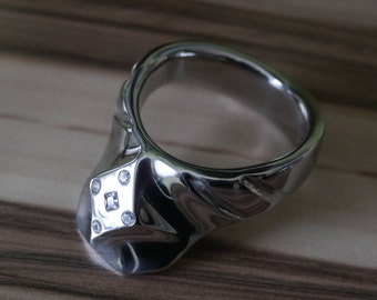 Stainless steel 316l ring; Dick Ring, Penis ring, ring, stainless steel ring, jewelry for men, intimate jewelry