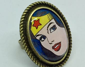 Wonder Woman ring