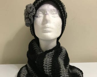 snood for women// crocheted with Acrlic wool yarn // very comfortable for winter