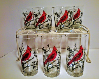 Cardinal Drinking Glasses
